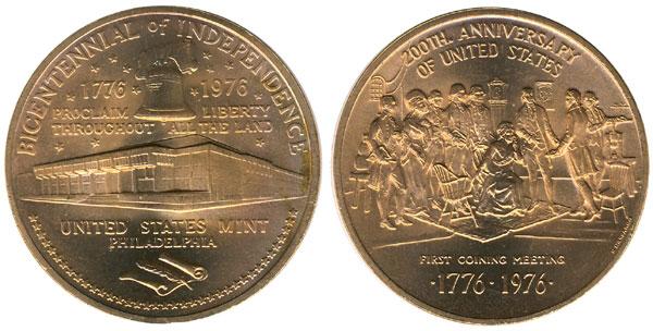1976 Philadelphia Mint Bicentennial Medal