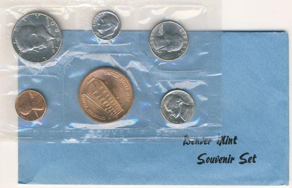 1980 Denver Mint Souvenir Set