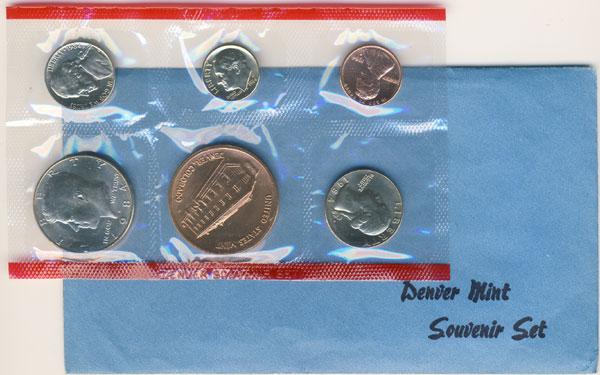 1984 Denver Mint Souvenir Set