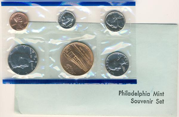 1986 Philadelphia Mint Souvenir Set