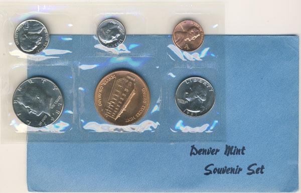 1987 Denver Mint Souvenir Set