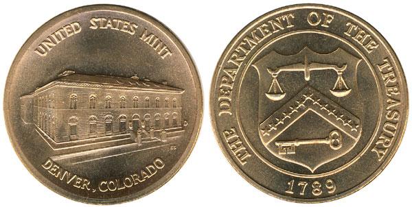 Denver Mint Bronze Medal