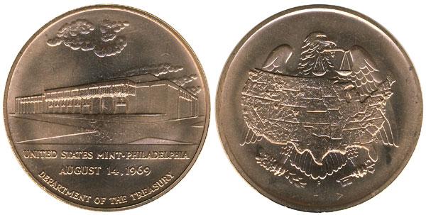 Philadelphia Mint Bronze Medal